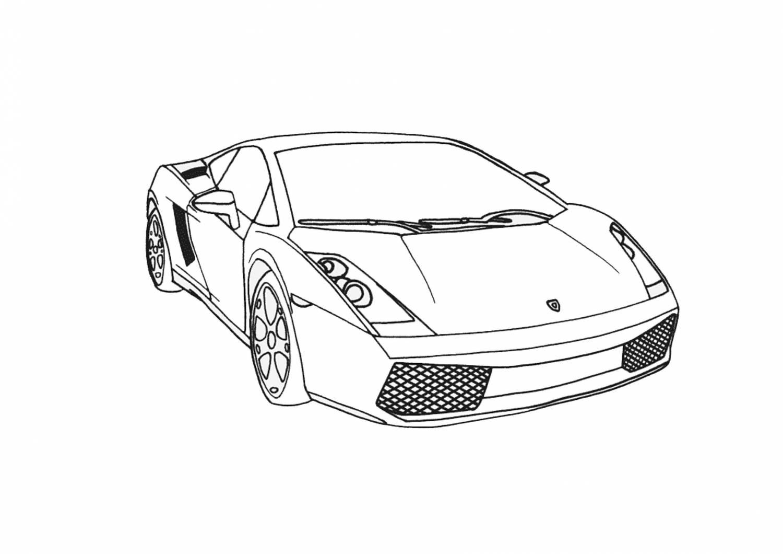 Раскраски спортивные машины блог