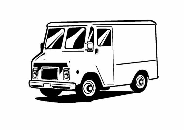 Грузовик - Грузовые - Автомобили - Каталог файлов - Раскраски